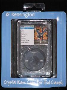 KENSINGTON Crystal Wave Case - SMOKE - iPod Classic NEW, Australian Stock