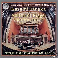 Solistes prague, Mozart concert 9 et 13 NEUF