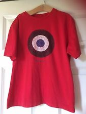 "Ben Sherman,Red short sleeve,t.Shirt,size S approx 32"" cotton, machine wash"