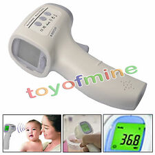 New Non-contact Body Skin Infrared IR Digital Thermometer For Baby Kids Adult