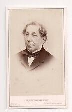 Vintage CDV Charles François Marie, Comte de Rémusat French politician & writer