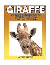 Giraffe: Super Fun Coloring Books For Kids And Adults (Bonus: 2... Free Shipping