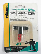 Wagner 0154681 Reversible Spray Tip Size 411 for Light Paint & Stains
