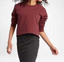 NikeLab Essentials Fleece Women's Crew Sweathshirt (M) 848735 637