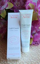 Avene cold cream 100 ml-3.4 Fl.oz.For very dry, sensitive skin. Exp 2019