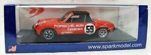 Rare 1971 Porsche 914/6 Winner VIR IMSA P Gregg  H Haywood 1/43 Spark US081 MB