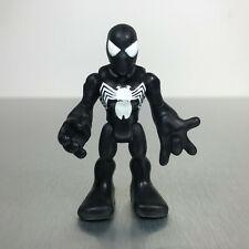 Playskool Marvel Super Hero Adventures BLACK COSTUME SPIDER-MAN figure