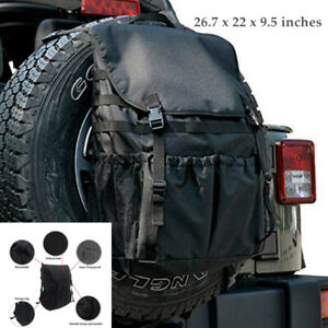 Off-road Auto Tyre Hanging Bag Protector Tire Storage Carry  Cover For Jeep SUV