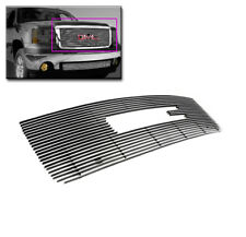 2007-2013 GMC SIERRA 1500 FRONT UPPER MAIN  BILLET GRILLE GRILL INSERT W/CUT-OUT