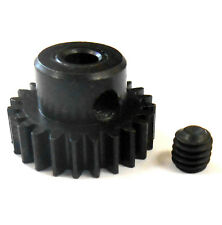 L623 Module 0.6 0.6M 23T 23 Teeth Tooth Motor Pinion Gear Black 540 3.17mm Bore
