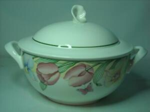 Villeroy & Boch CANARI VEGETABLE TUREEN - SERVING BOWL Dishwasher Safe