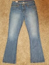 ABERCROMBIE & FITCH womens Bootcut jeans - size 2R - 29 x 31 GREAT condition