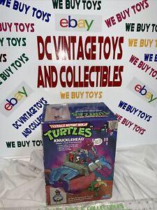 Playmates TMNT Teenage Mutant Ninja Turtles Knucklehead rare