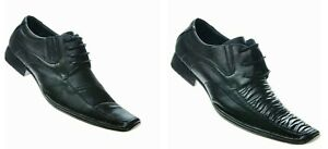Mens Formal Shoes Faux Leather Smart Wedding Office Party Shoes