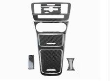 8pcs Carbon Fiber Interior Trim Cover Full Kit For Mercedes Benz GLA CLA 13-2017