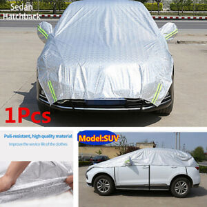 Car SUV Half Body Sun Shade Waterproof Cover Sunscreen UV Dust Cover Protection