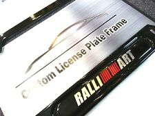 Gloss Black License Plate Frame for RALLIART Mitsubishi Lancer Evolution RVR