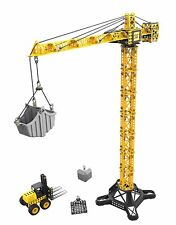 CAT Apprentice Tower Crane with Fork Lift Playset