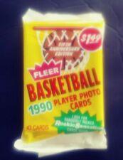 1- 1990-91 FLEER Basketball JUMBO CELLO PACK 43ct.- Michael Jordan! - Quantity