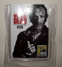 Comic Con San Diego SDCC The Walking Dead Rick Grimes Card Badge 2017 RFID Swag