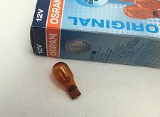 OSRAM wy16w Lampe 12V 16W w2.1 x 9.5d D Ampoule à culot en verre W16W Orange