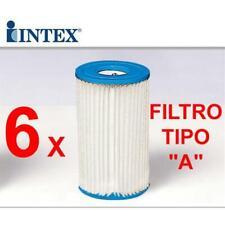INTEX PZ 6 FILTRI 59900 CARTUCCE FILTRO MOD A PER POMPA 58604 56636 56638