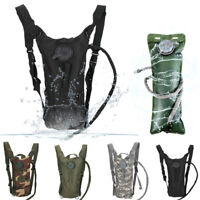 Hydration Pack + 3L Water Bladder Bag Hydration Backpack Hiking Camping Running