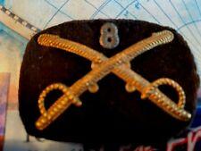 New listing Original~ Us Civil War Cavalry Officer's Kepi/Hat Insignia