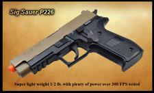 Sig Sauer Licensed Trademarked P226 Dark Earth Airsoft Gun with over 300 FPS