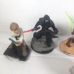 Disney Infinity Lot Star Wars Figures 3.0 Darth Vader Kylo Ren