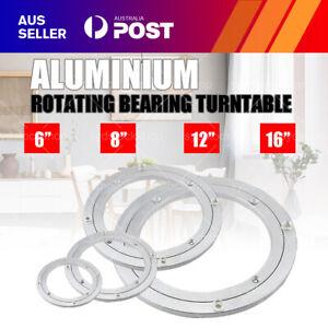 "6/8/12/16"" Aluminium Lazy Susan Rotating Bearing Turntable Round Swivel Plate AU"