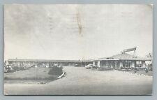 Skyway Motel—Hamilton Ontario—Vintage Highway 25 Roadside Postcard 1959