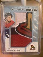 19-20 Black Diamond Rookie Team Logo Jumbos Brannstrom Ottawa