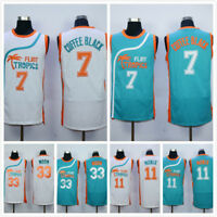 Retro Basketball Jersey Semi Pro Flint Tropics 33# 7# Throwback Jerseys Stitched
