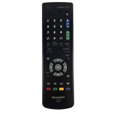 * NUOVO * Genuine SHARP LC26AD5EBK / LC32AD5E / LC20AD5E / LC26AD5E TV Remote Control