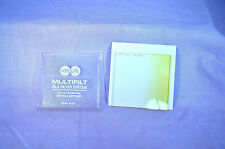 """Acme-Lite Graduate Yellow 67 mm SQ Filter for Series """"A"""" Uniframe Made UK (O-12)"""