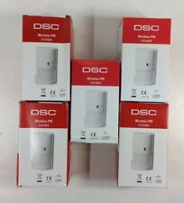5 LOT DSC WS4904P SECURITY WIRELESS PIR MOTION ALARM SENSORS 60 LBS PET IMMUNITY