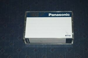 PANASONIC SUPER SHG EC45 XD GRADE VHS C COMPACT VIDEO CASSETTE TAPE