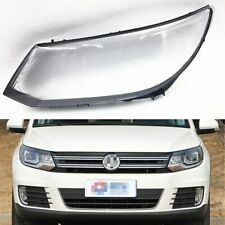 For Volkswagen VW Tiguan 2013 ~ 2017 Car Headlamp Clear Lens Auto Shell Cover