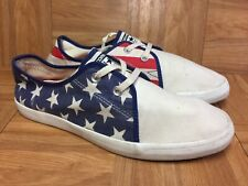 RARE🔥 Converse All Star RIFF Low American Flag Stars & Bars RED WHITE BLUE 11