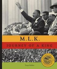 M.L.K. JOURNEY OF A KING - TONYA BOLDEN - BRAND NEW HARDCOVER - 2007 - MINT COND
