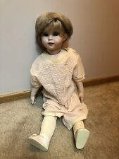 Antique Vintage SFBJ All Bisque Doll With Moveable Jointed Body