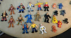 Lot Of Fisher Price Imaginext Figures And Accessories