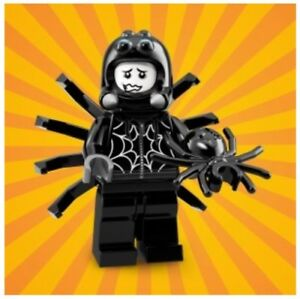 LEGO Series 18 Minifigures 71021 SPIDER SUIT GUY Fangs Party Costume SEALED