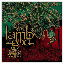"""Lamb of God Ashes of the Wake sticker decal 4"""" x 4"""""""