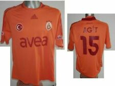 RARE 2008-09 FC Galatasaray AGIT #15 Football Jersey Away Soccer Shirt size - L