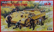 ICM 35211 WWII German Tank Crew Figuren in 1:35