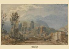Andernach, 1817, J.M.W. TURNER, English Romanticism Art Poster
