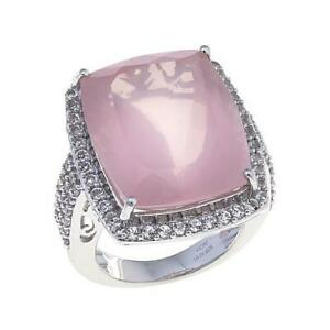 """Colleen Lopez """"Charming Discovery""""Quartz & Topaz Sterling Silver Ring Size 6"""