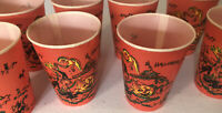 Vintage HALLOWEEN Cup Payer Wax Mary Dorman Collector's Not For Drinking Use